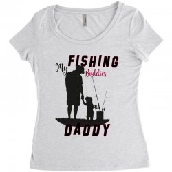 fishing daddy Women's Triblend Scoop T-shirt | Artistshot