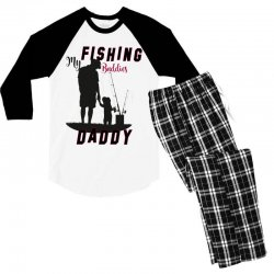 fishing daddy Men's 3/4 Sleeve Pajama Set | Artistshot