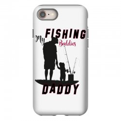 fishing daddy iPhone 8 Case | Artistshot