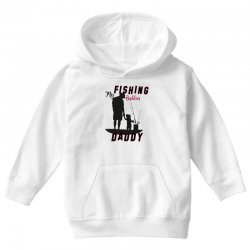 fishing daddy Youth Hoodie | Artistshot