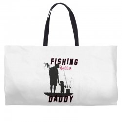 fishing daddy Weekender Totes | Artistshot