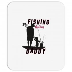 fishing daddy Mousepad | Artistshot