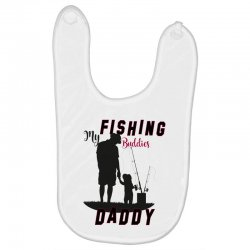 fishing daddy Baby Bibs | Artistshot