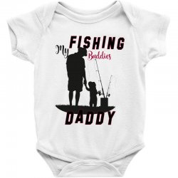 fishing daddy Baby Bodysuit | Artistshot