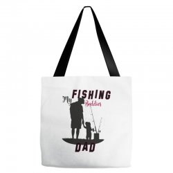 fishing dad Tote Bags | Artistshot