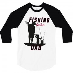 fishing dad 3/4 Sleeve Shirt | Artistshot
