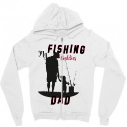 fishing dad Zipper Hoodie | Artistshot