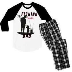 fishing dad Men's 3/4 Sleeve Pajama Set | Artistshot