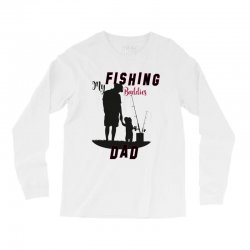 fishing dad Long Sleeve Shirts | Artistshot