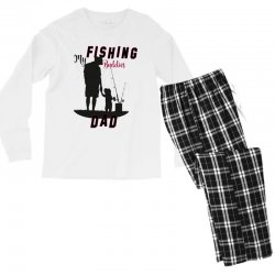 fishing dad Men's Long Sleeve Pajama Set | Artistshot