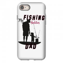 fishing dad iPhone 8 | Artistshot