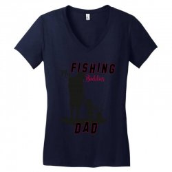 fishing dad Women's V-Neck T-Shirt | Artistshot