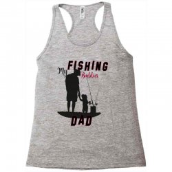 fishing dad Racerback Tank | Artistshot