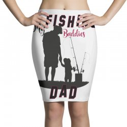fishing dad Pencil Skirts | Artistshot