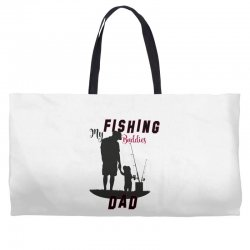fishing dad Weekender Totes | Artistshot