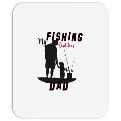 fishing dad Mousepad | Artistshot