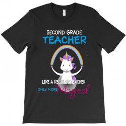 2nd second grade teacher cute magical unicorn T-Shirt | Artistshot