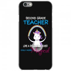 2nd second grade teacher cute magical unicorn iPhone 6/6s Case | Artistshot