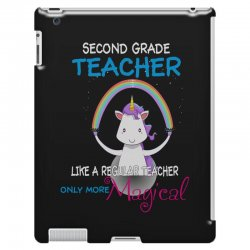 2nd second grade teacher cute magical unicorn iPad 3 and 4 Case | Artistshot