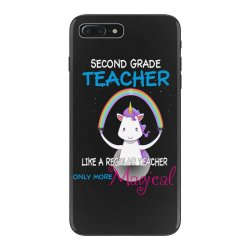 2nd second grade teacher cute magical unicorn iPhone 7 Plus Case | Artistshot