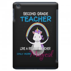 2nd second grade teacher cute magical unicorn iPad Mini Case | Artistshot