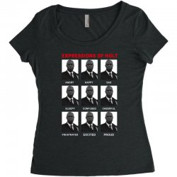 expressions of holt Women's Triblend Scoop T-shirt | Artistshot