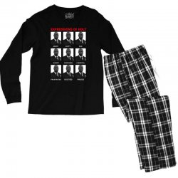 expressions of holt Men's Long Sleeve Pajama Set | Artistshot