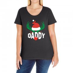 daddy deer Ladies Curvy T-Shirt | Artistshot