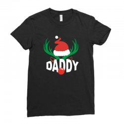 daddy deer Ladies Fitted T-Shirt | Artistshot