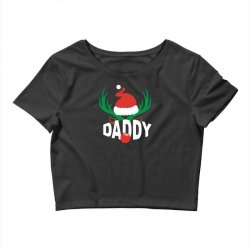 daddy deer Crop Top | Artistshot