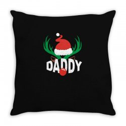 daddy deer Throw Pillow | Artistshot