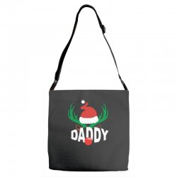 daddy deer Adjustable Strap Totes | Artistshot