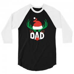 dad deer 3/4 Sleeve Shirt | Artistshot