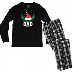 dad deer Men's Long Sleeve Pajama Set | Artistshot