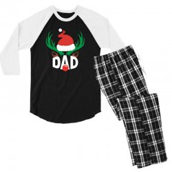 dad deer Men's 3/4 Sleeve Pajama Set | Artistshot