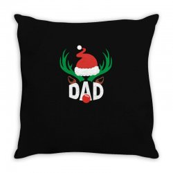 dad deer Throw Pillow | Artistshot