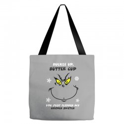 buckle up buttercup Tote Bags | Artistshot