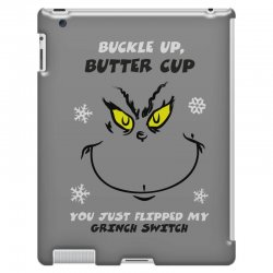 buckle up buttercup iPad 3 and 4 Case | Artistshot