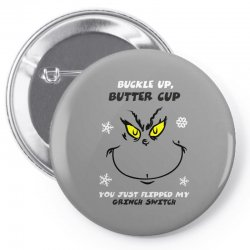 buckle up buttercup Pin-back button | Artistshot