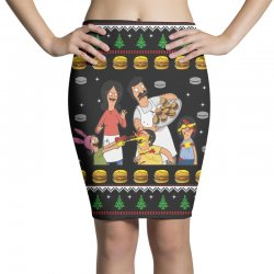 bob's burgers family ugly Pencil Skirts | Artistshot