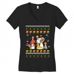 bob's burgers family ugly Women's V-Neck T-Shirt | Artistshot