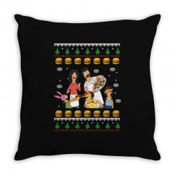bob's burgers family ugly Throw Pillow | Artistshot