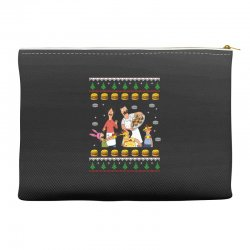 bob's burgers family ugly Accessory Pouches | Artistshot