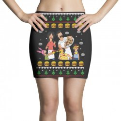 bob's burgers family ugly Mini Skirts | Artistshot