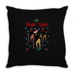 all the jingle ladies christmas all the jingle ladies Throw Pillow | Artistshot