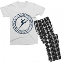 Eat, sleep, Rhythmic gymnastics, Repeat III Men's T-shirt Pajama Set | Artistshot