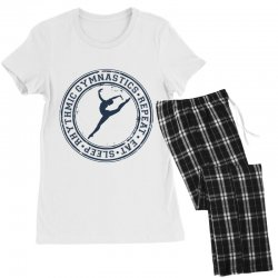 Eat, sleep, Rhythmic gymnastics, Repeat III Women's Pajamas Set | Artistshot