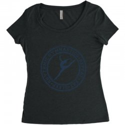 Eat, sleep, Rhythmic gymnastics, Repeat III Women's Triblend Scoop T-shirt | Artistshot