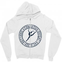 Eat, sleep, Rhythmic gymnastics, Repeat III Zipper Hoodie | Artistshot