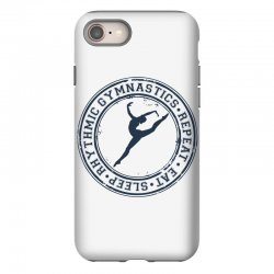 Eat, sleep, Rhythmic gymnastics, Repeat III iPhone 8 Case | Artistshot